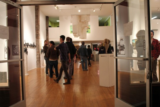 opening reception, June 11, 2011.