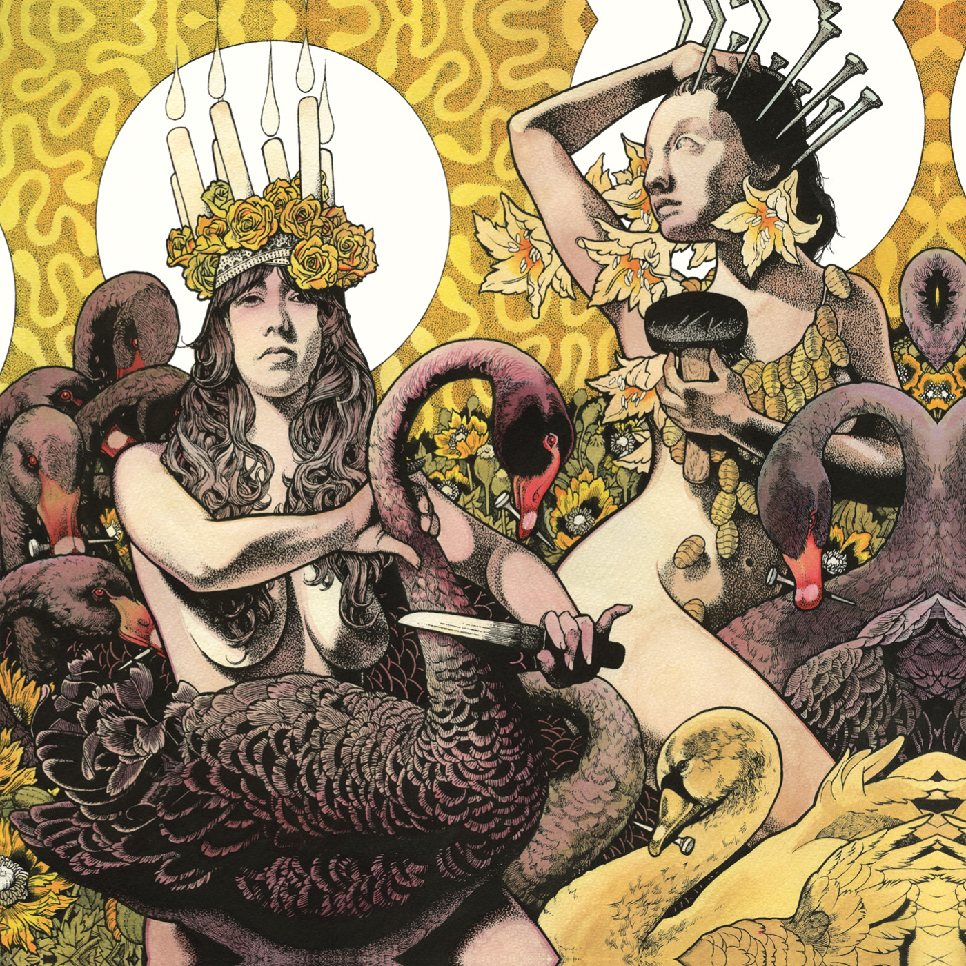 Yellow & Green by Baroness, artwork by John Dyer Baizley ...