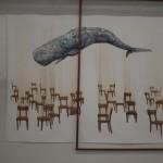 Nathan Huff, Shifting (2012), mixed media installation, dimensions variable