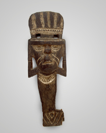 Figure of a Divinity, Integration Period (1000-1550 A.D.), Tairona culture, Northern Colombia
