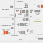 Map of Fullerton Art Walk