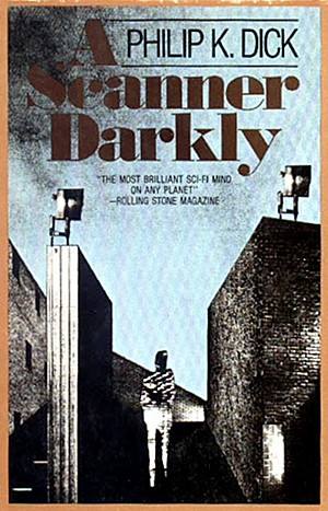 First Edition Cover of A Scanner Darkly by Phillip K. Dick