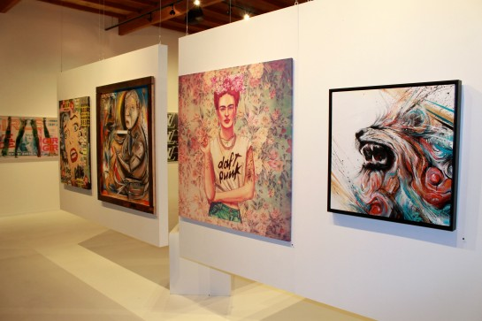 Dax Gallery, Interior