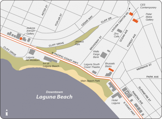 North and Central Laguna