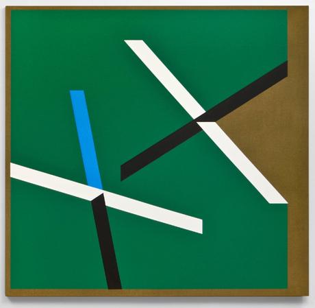 Tony DeLap, Double Cross, 2012