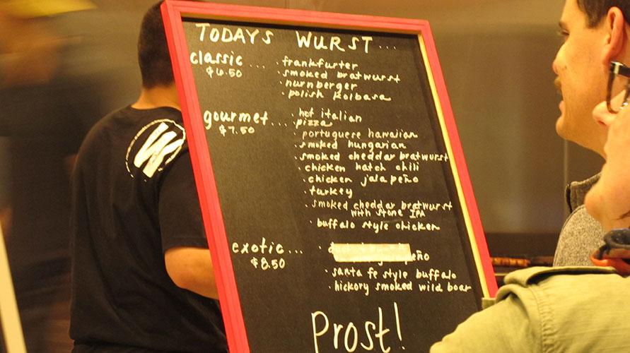 Wurst decision